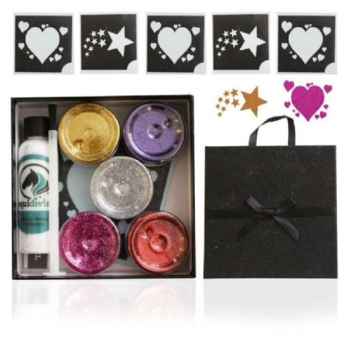 Equidivine Horse Glitter Tattoo Kit